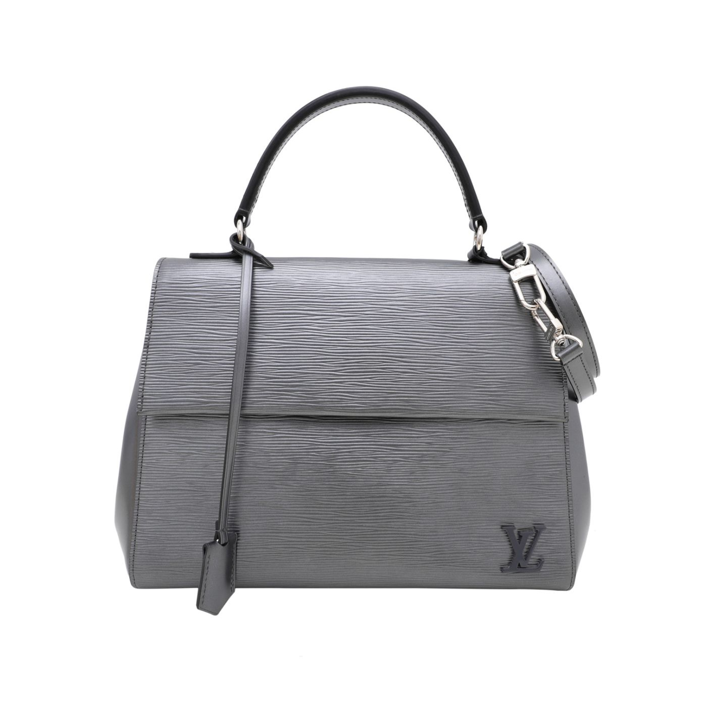 Louis Vuitton Anthracite Nacre Cluny MM Bag