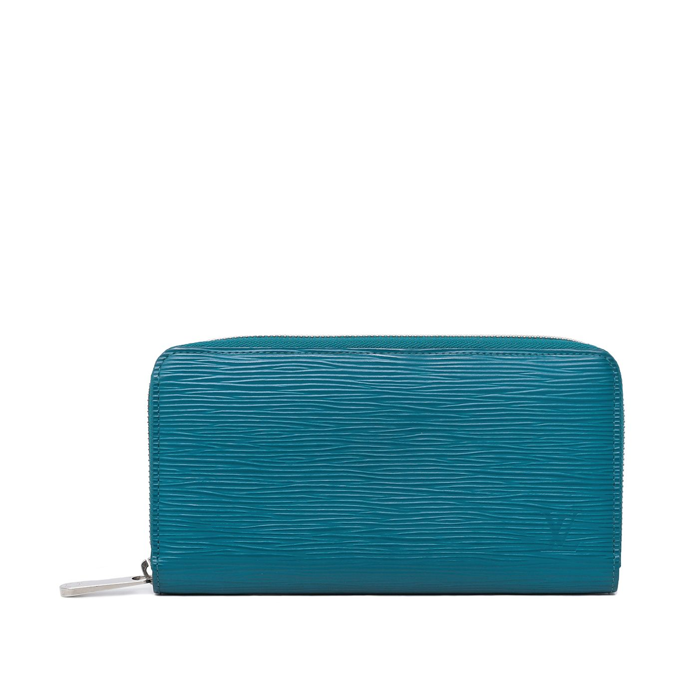 Louis Vuitton Turquoise Long Zippy Wallet