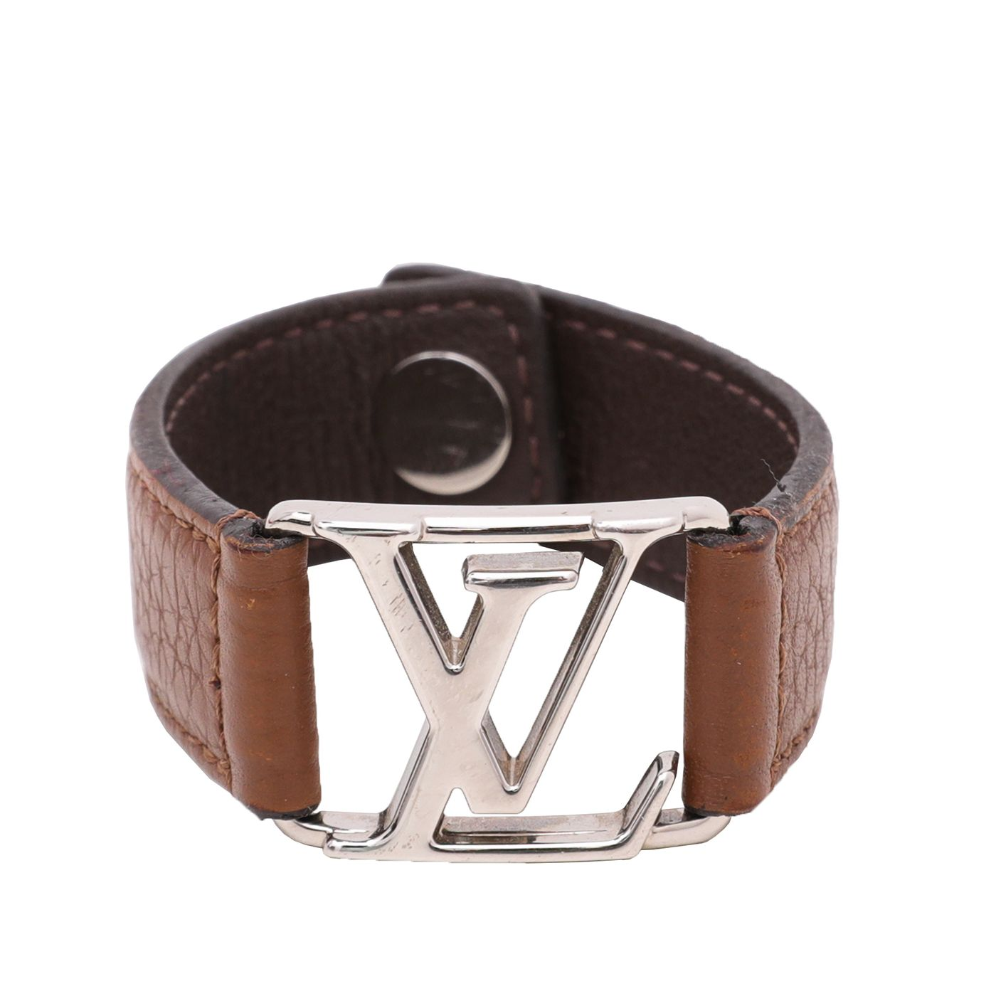 Louis Vuitton Brown Hockenheim Bracelet