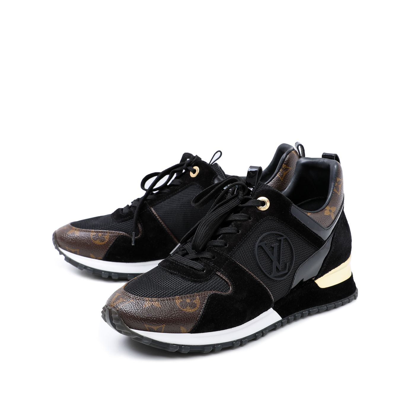 Louis Vuitton Bicolor Monogram Runaway Sneakers 40