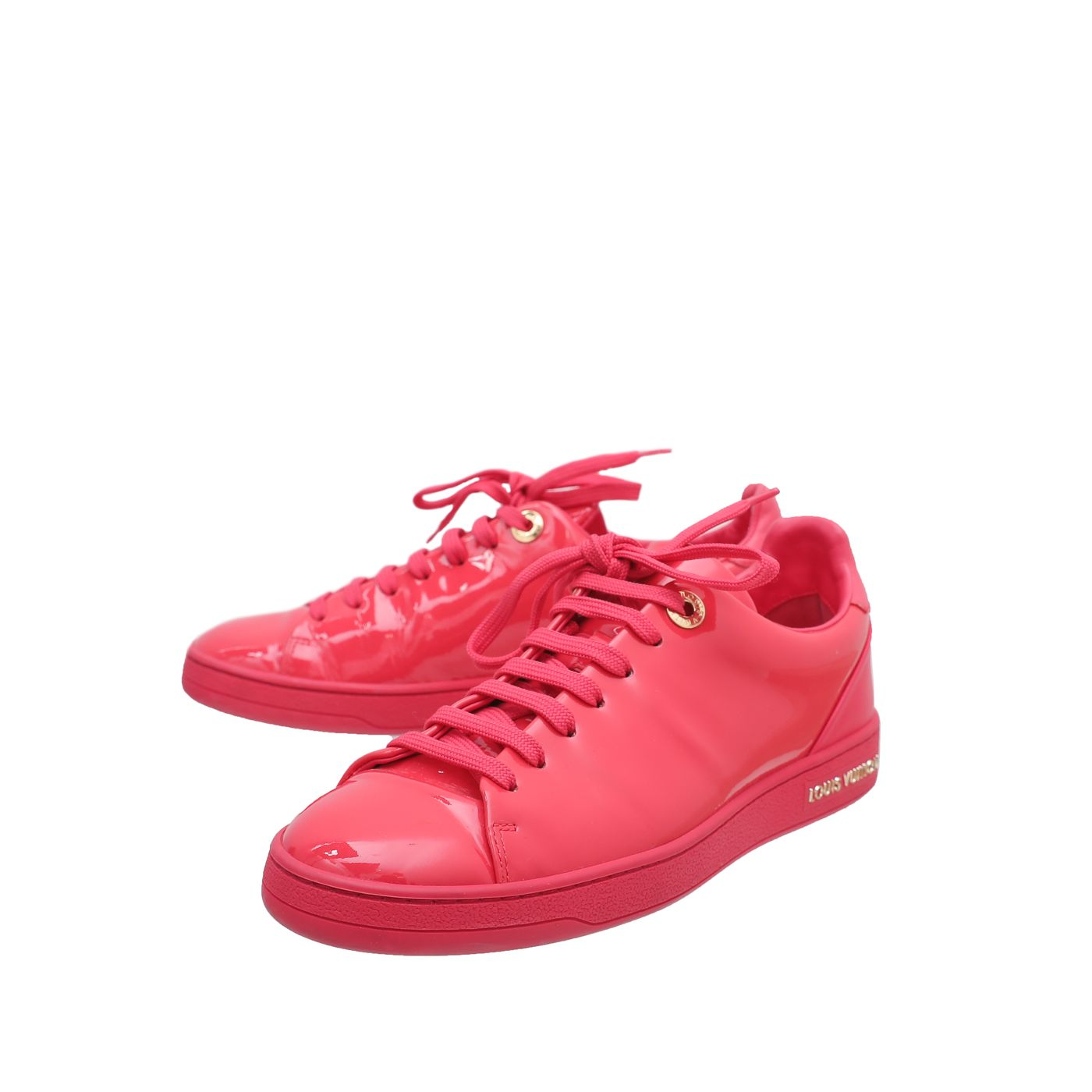 Louis Vuitton Neon Pink Frontrow Sneakers 35