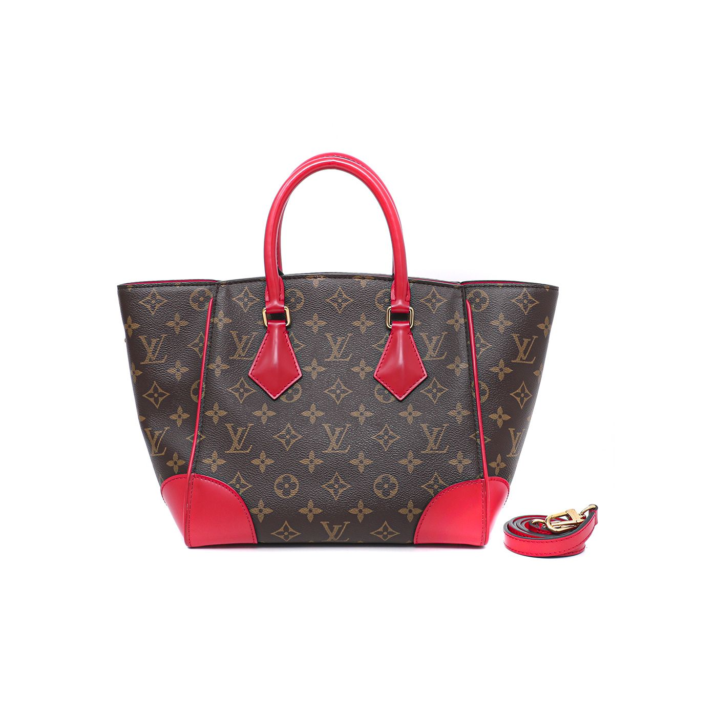 Louis Vuitton Bicolor Monogram Phenix Bag
