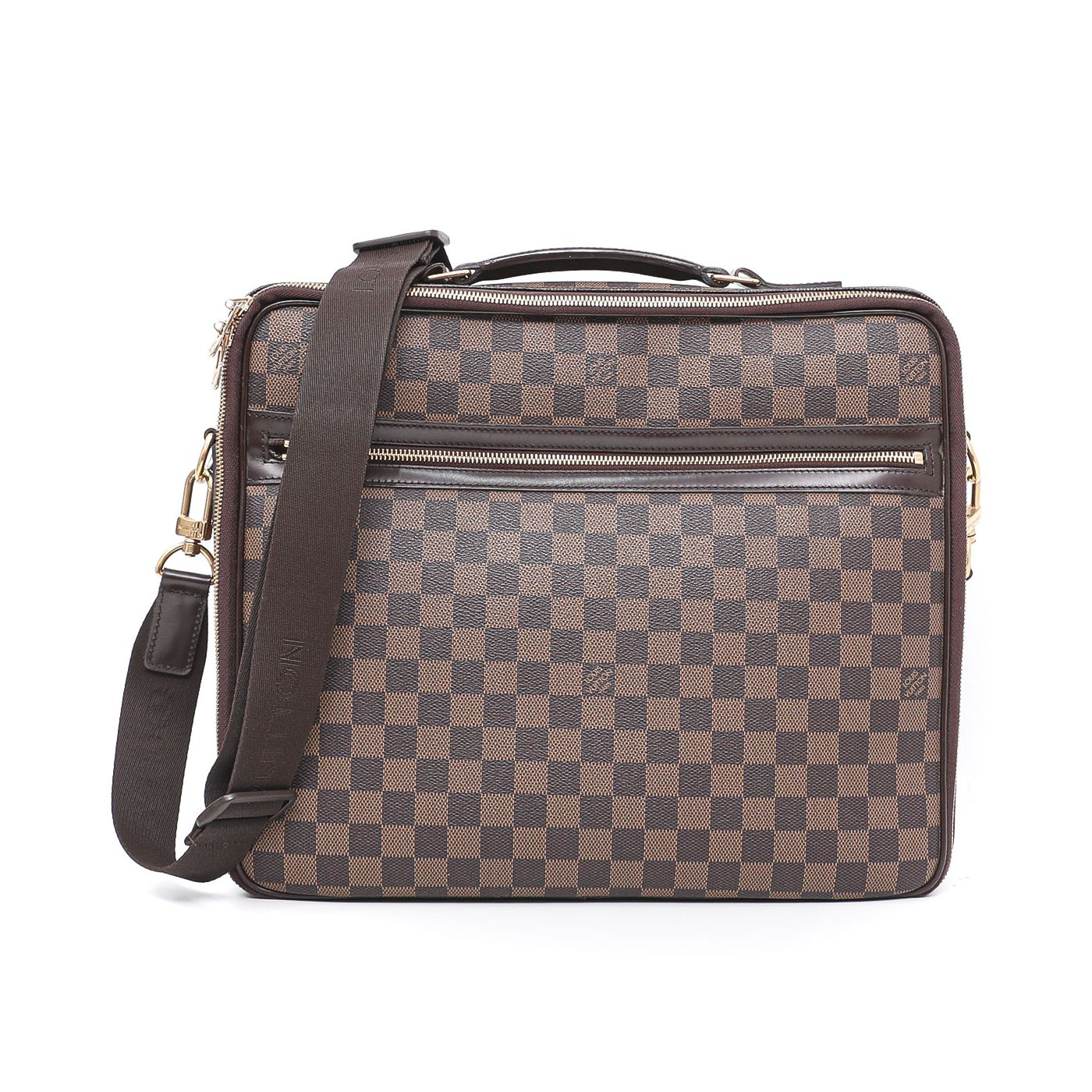 Louis Vuitton Ebene Porte Ordinateur Sabana Computer Case Bag