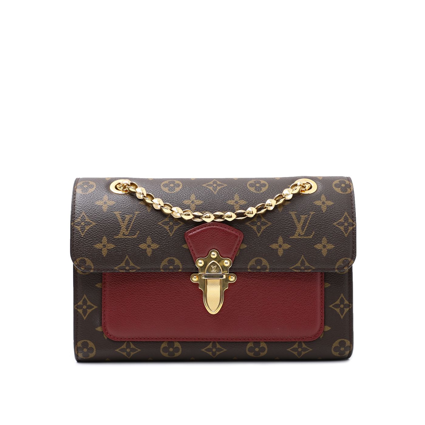 Louis Vuitton Bicolor Monogram Victoria Bag