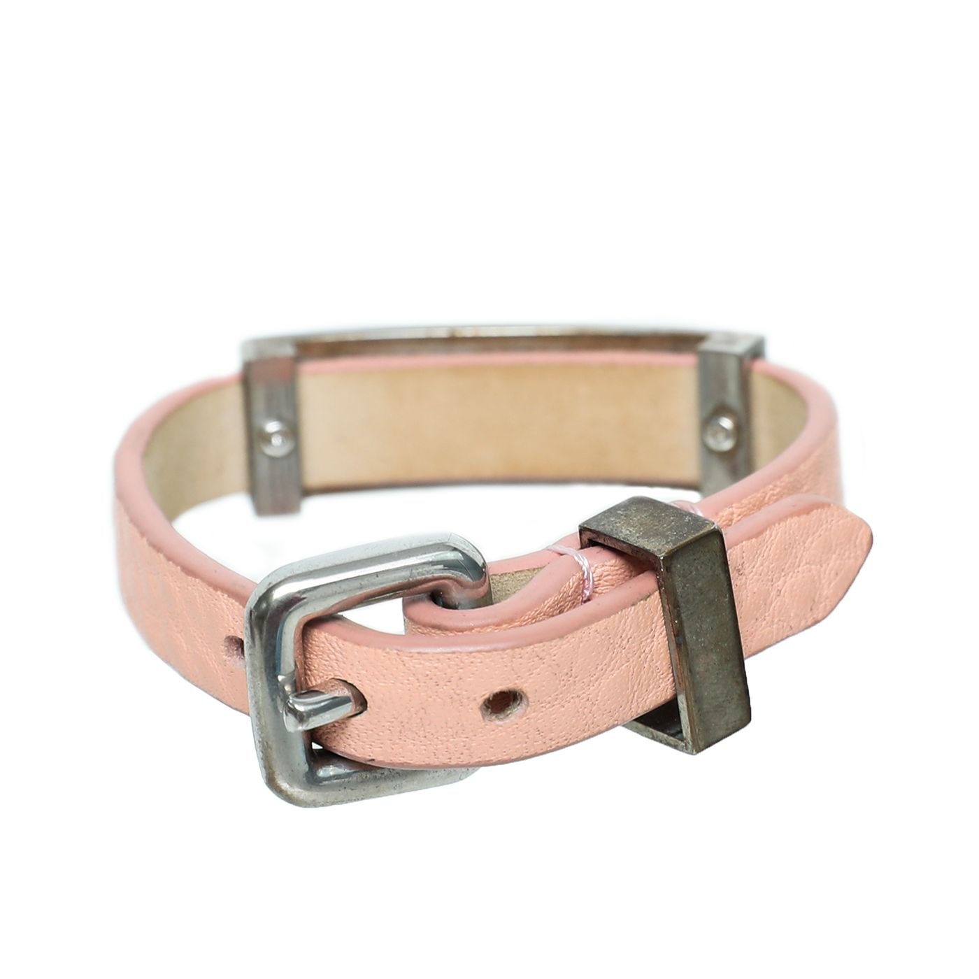 Marc By Marc Jacob Pink Logo Bracelt