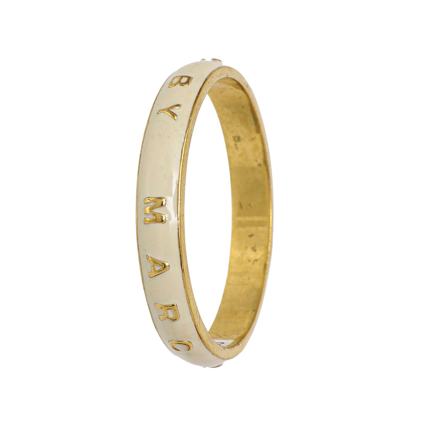 Marc Jacobs Bicolor Signature Name Bangle