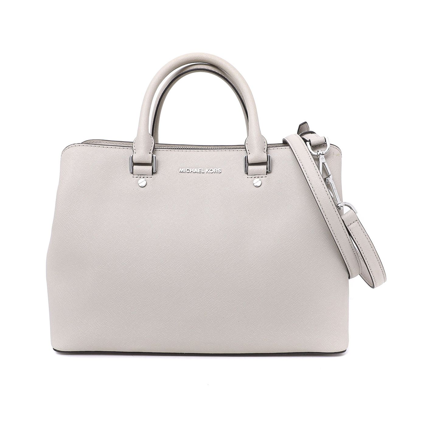 Michael Kors Grey Savannah Tote Bag