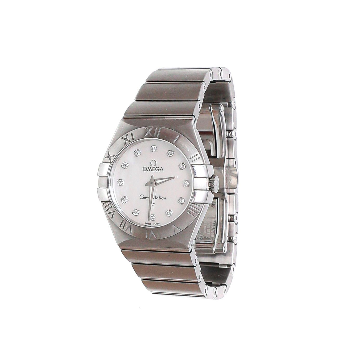 Omega Constellation Quartz MOP Watch
