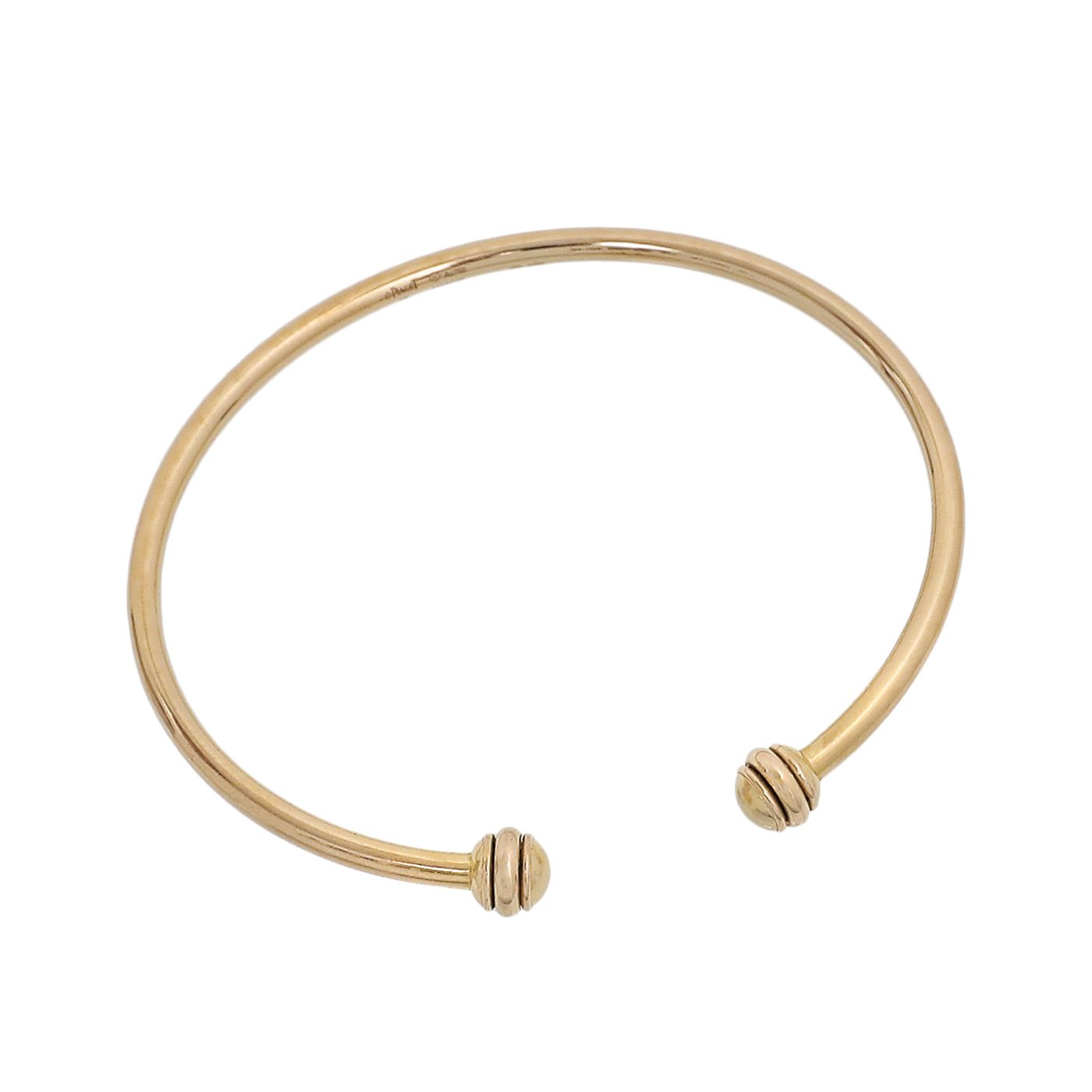 Piaget 18K Rose Gold Possession Open Bangle Bracelet 15