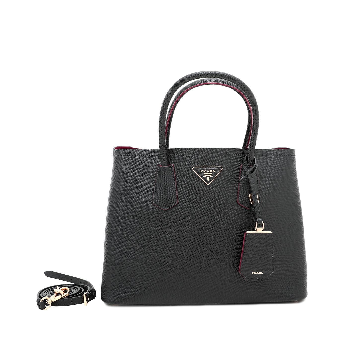 Prada Bicolor Double Bag Medium