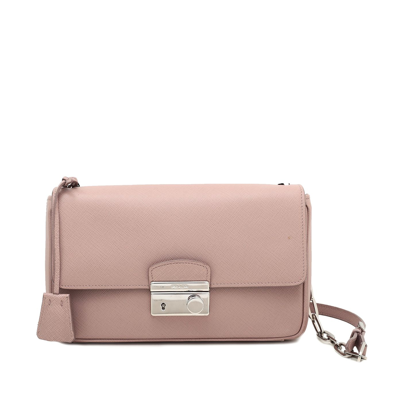 Prada Nude Lux Sound Shoulder Bag