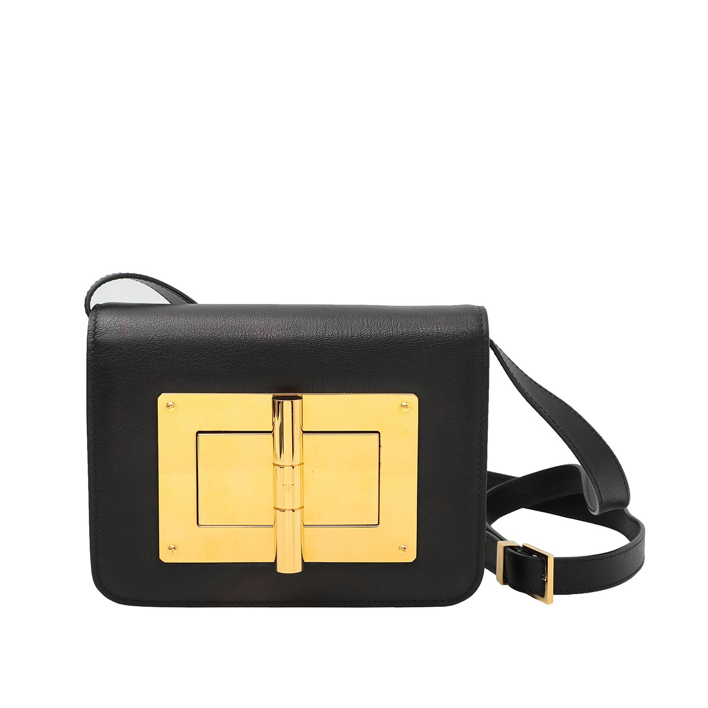 Tom Ford Black Natalia Bag Medium