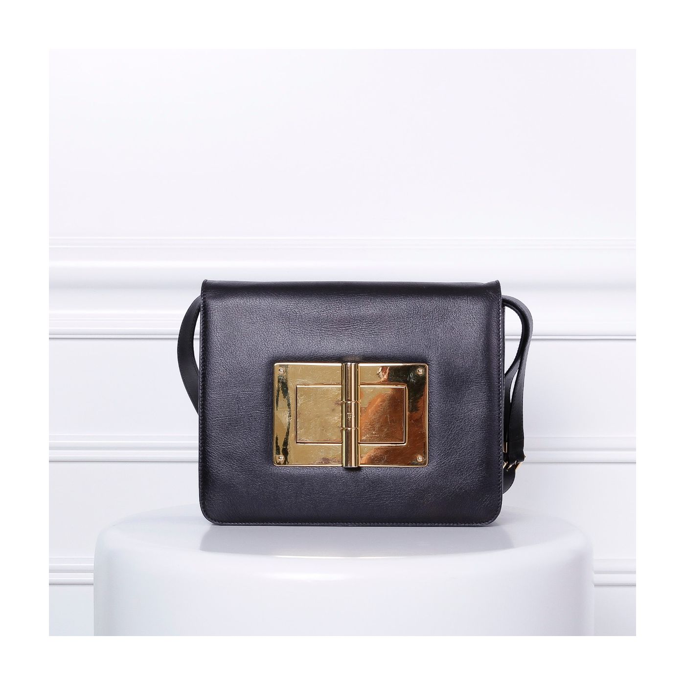 Tom Ford Black Natalia Large Bag