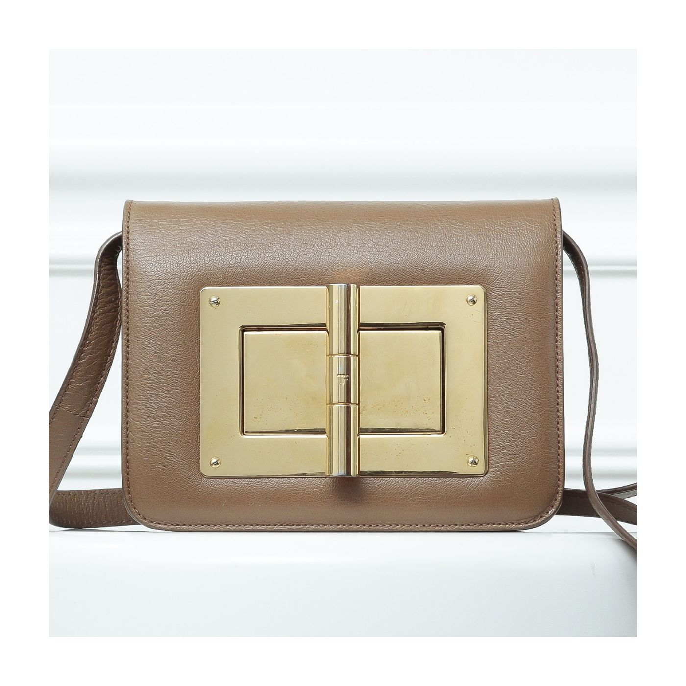 Tom Ford Brown Natalia Bag Medium