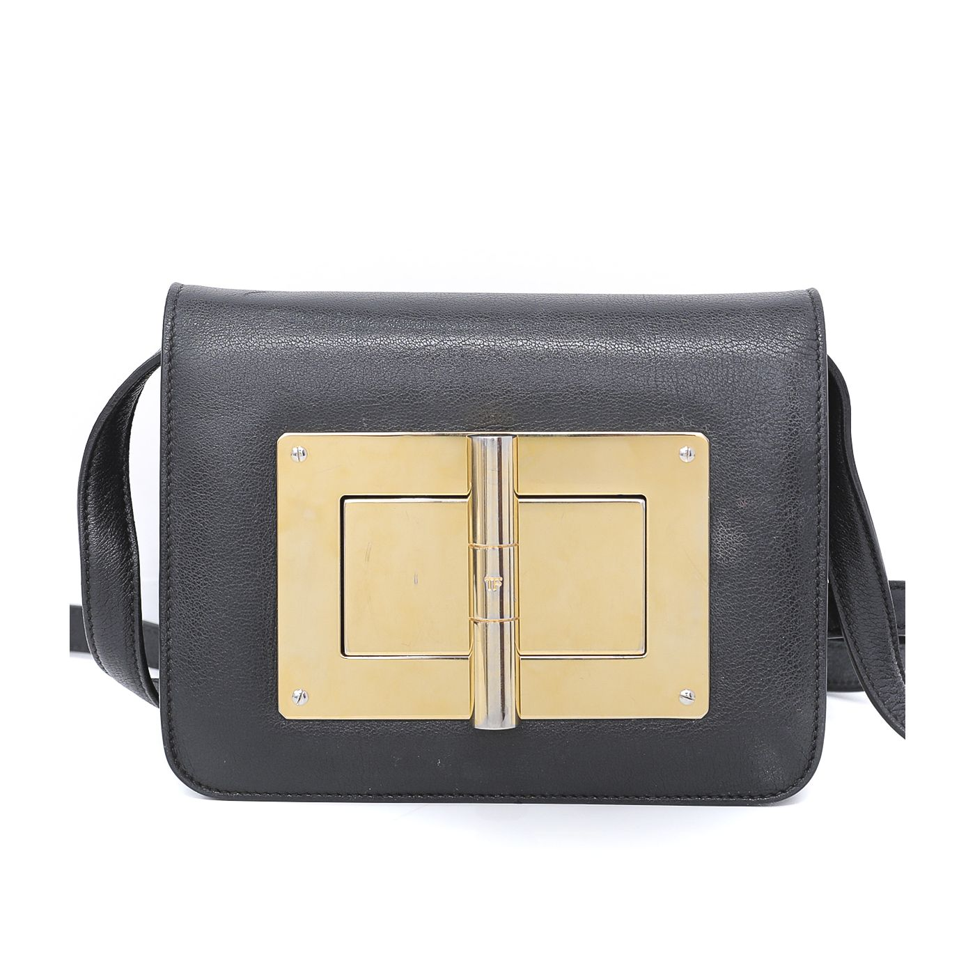 Tom Ford Black Natalia Shoulder Bag
