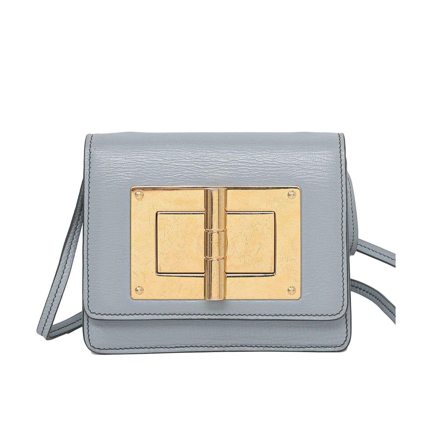 Tom Ford Gray Natalia Shoulder Bag