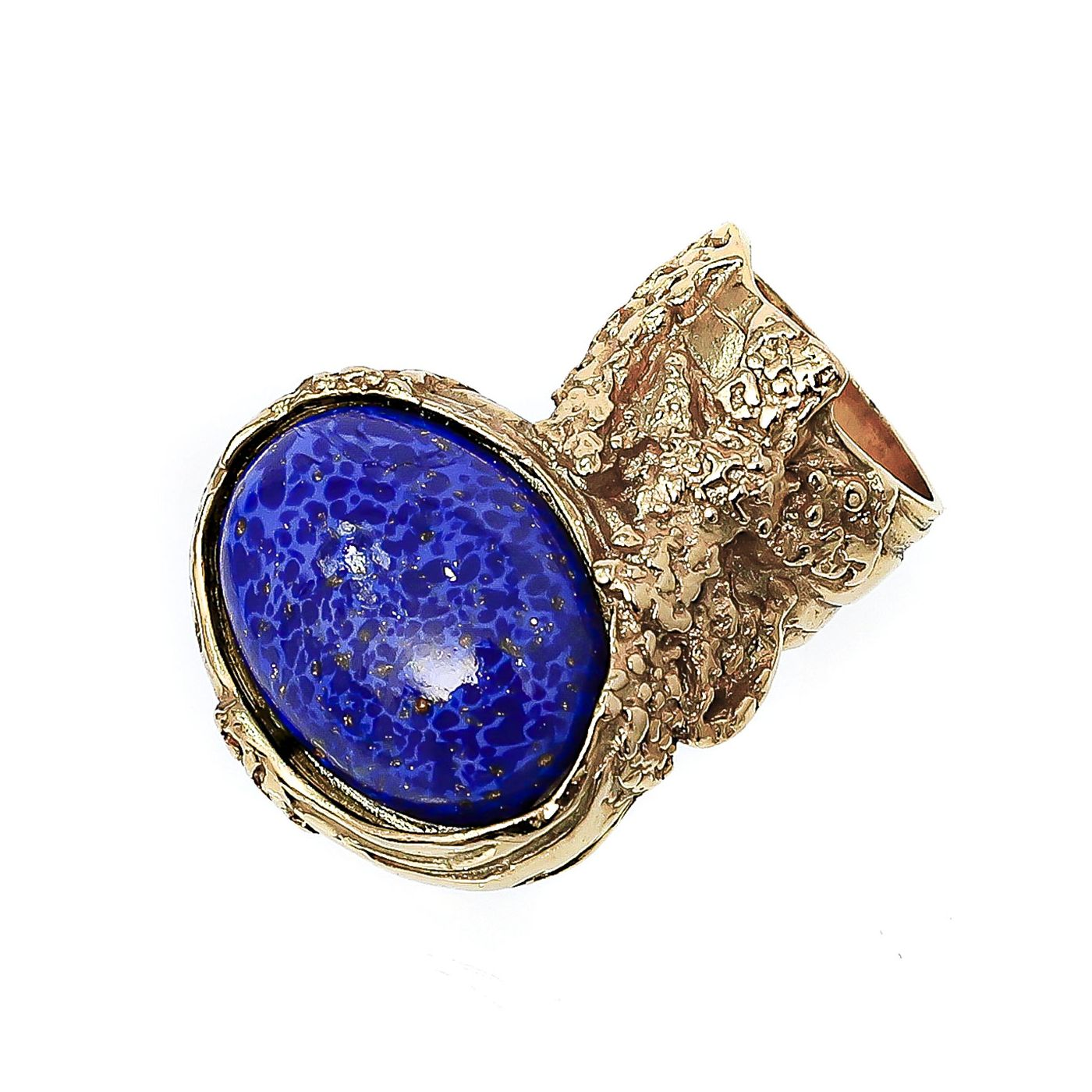 YSL Blue Iconic Arty Ring 6