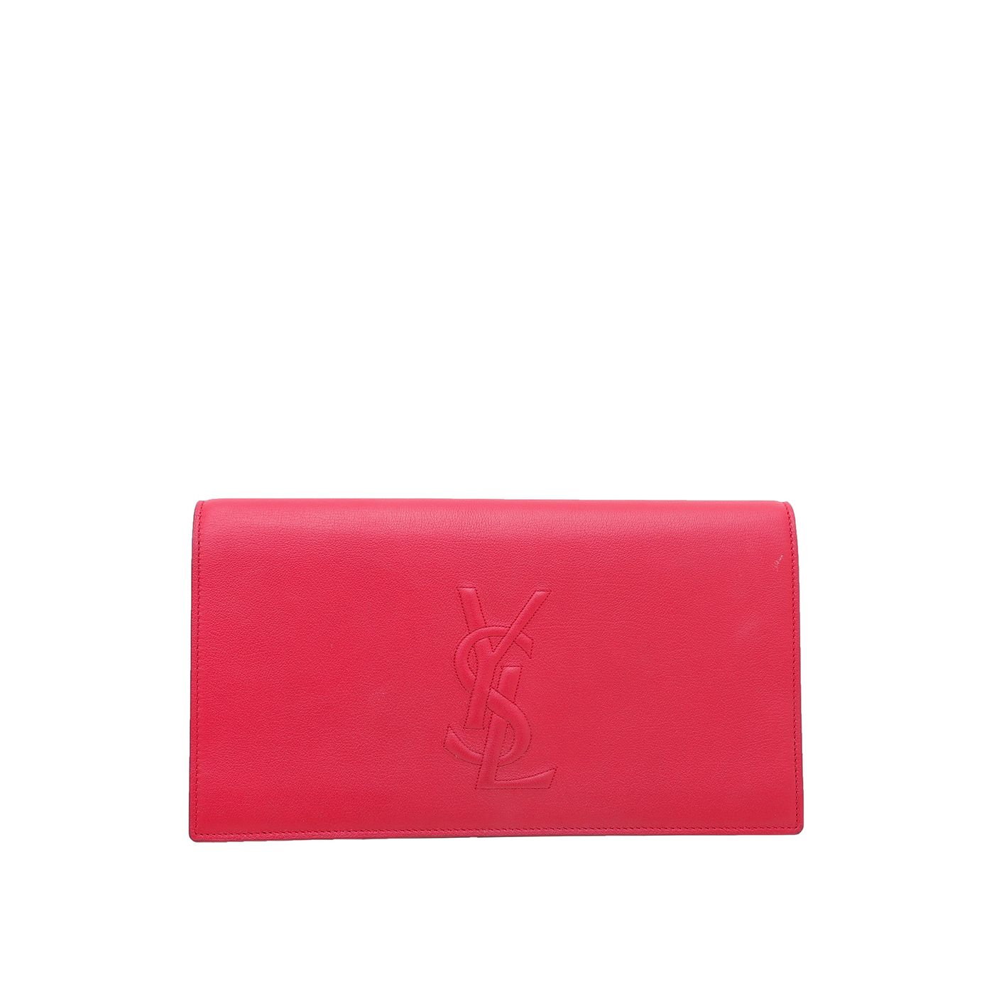 YSL Red Belle De Jour Clutch