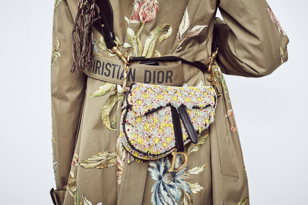 Old is the New Things! Dior Saddle Bag